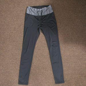Reebok Drawstring Leggings With Pockets